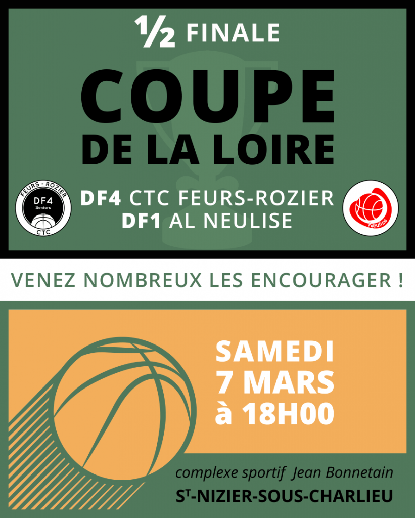 1/2 Finale - Coupe de la Loire