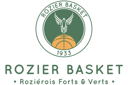 Rozier basket logo + slogan couleurs