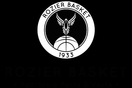 Rozier basket logo + slogan noir et blanc